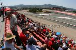 Tribune H, GP Barcelone<br />Circuit de Catalogne Montmelo